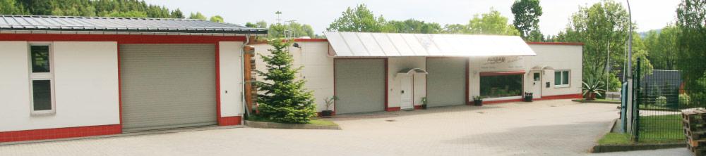 Panorama des Firmengebäudes