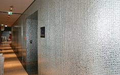 Mosaikverlegung